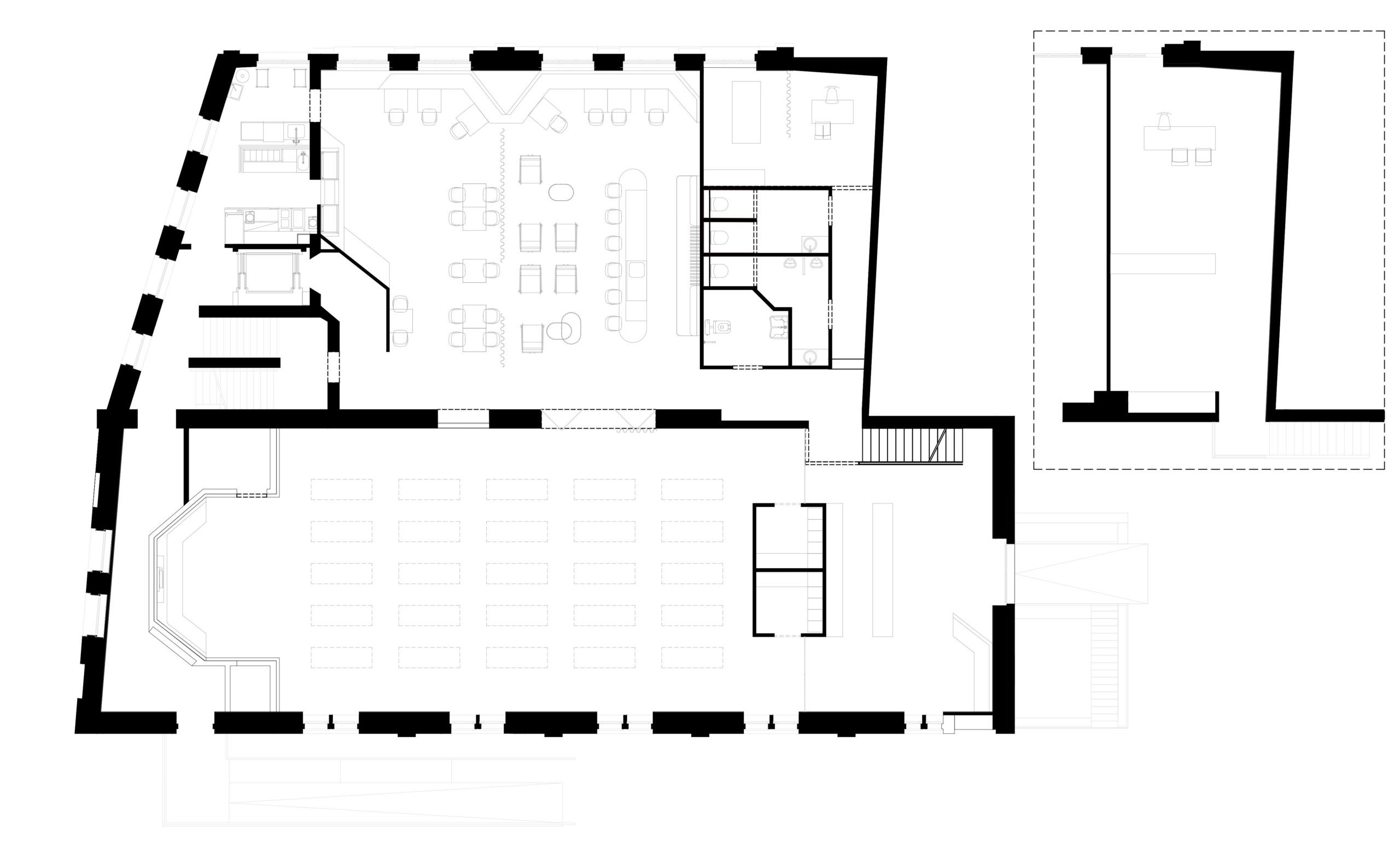 Map of Ayuryoga ground floor