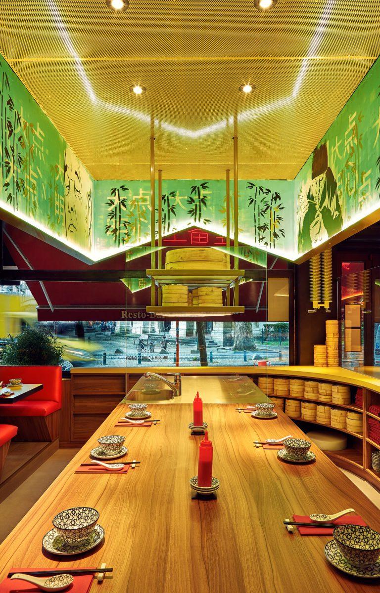 Shanghai restaurant in Ixelles