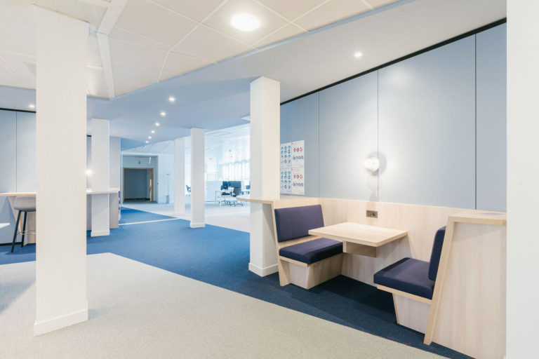 what is nwow? alcoves for informal meetings