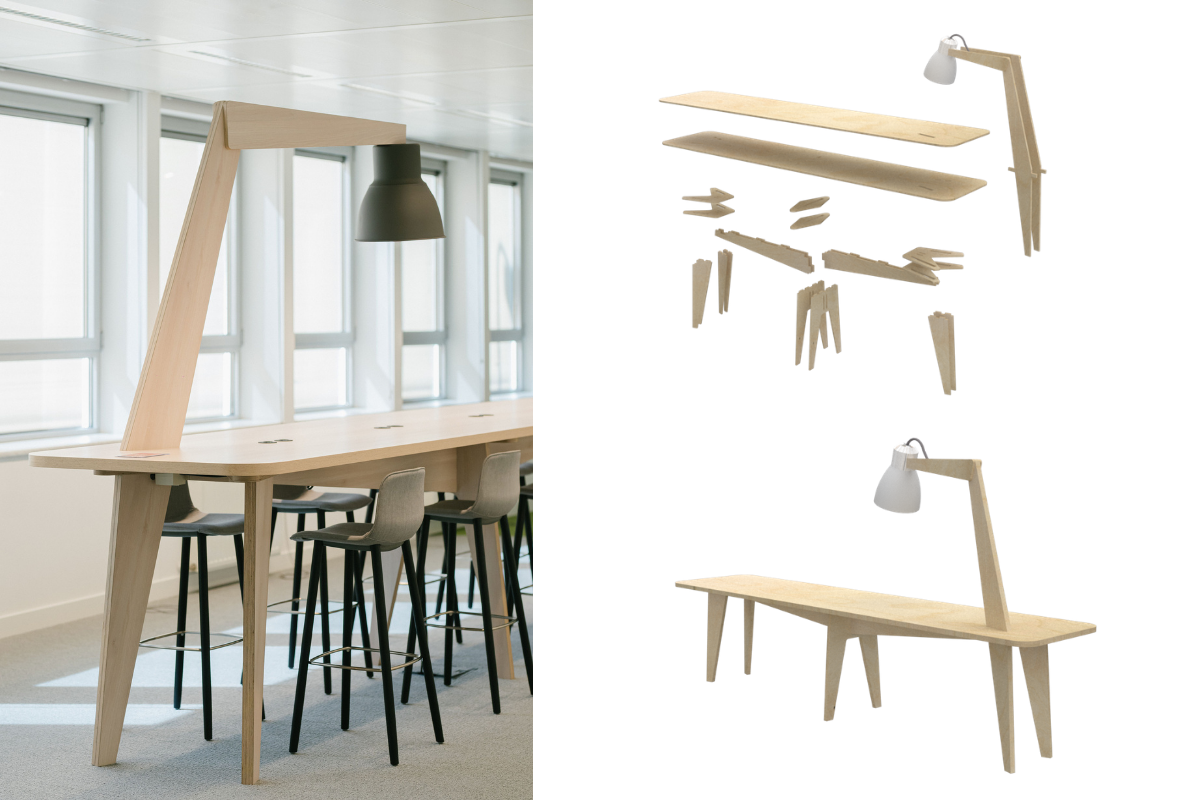 what is nwow? Tailor-made furniture for informal meetings