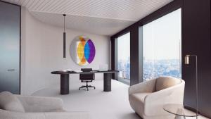 Artwork in Ethias' Executive Management Offices